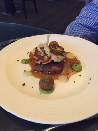 Pork Belly & Scallops